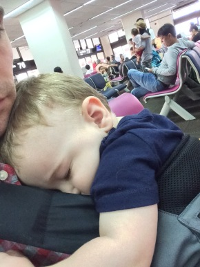 Long Haul Flight With a Toddler